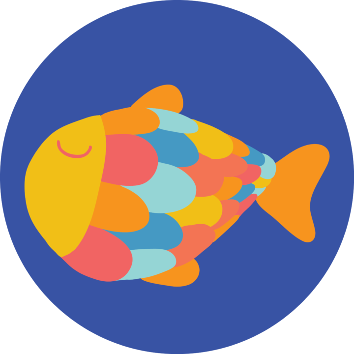 Vissen – Juf Britte en juf Ireene